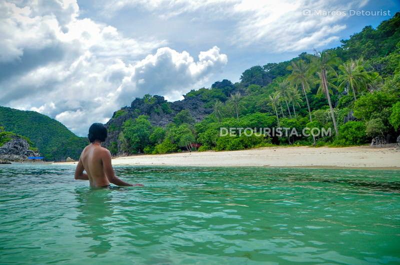 Marcos at Matukad Island