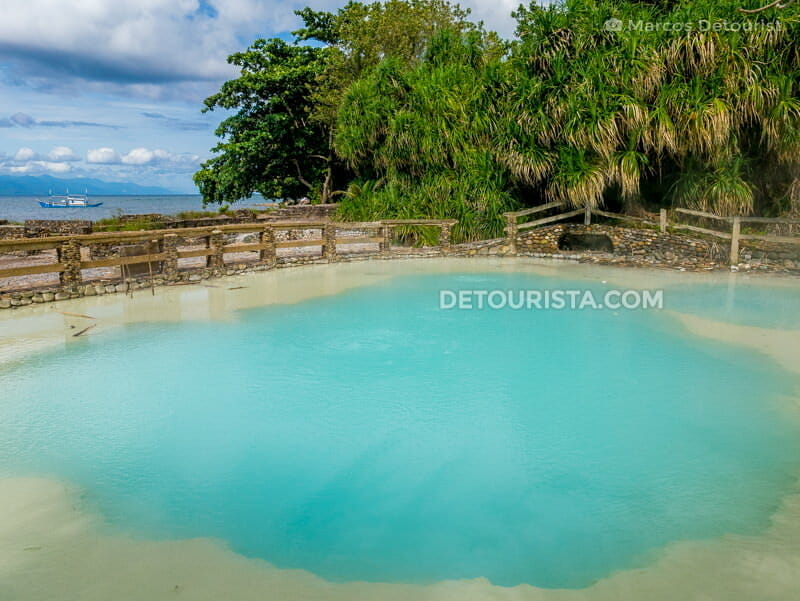 Sabang Hot Spring, in Balut Island, Sarangani Islands, Davao Occidental
