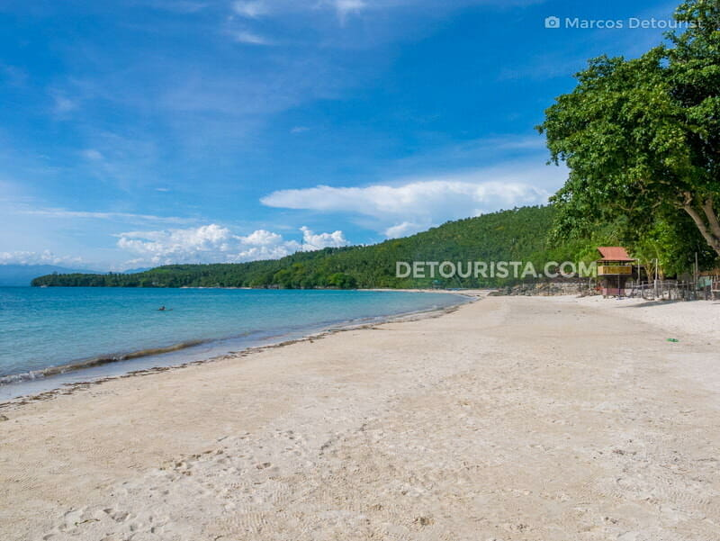 Gumasa Beach in Glan, Sarangani, Philippines