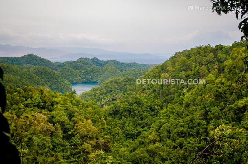 Overlooking Sohoton Lagoons