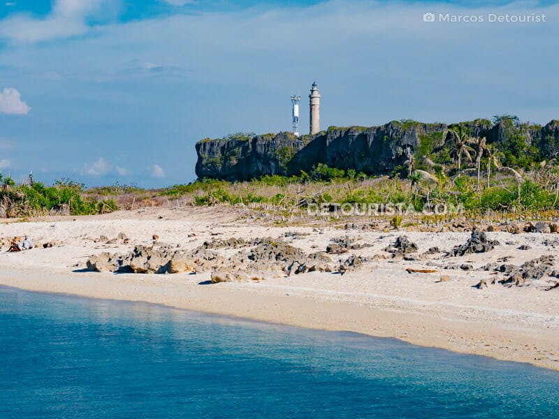 Maniguin Island in Culasi, Antique, Philippines