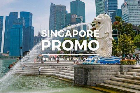 Singapore Promo – Up to 57% OFF Tours, Tickets & Travel Packages