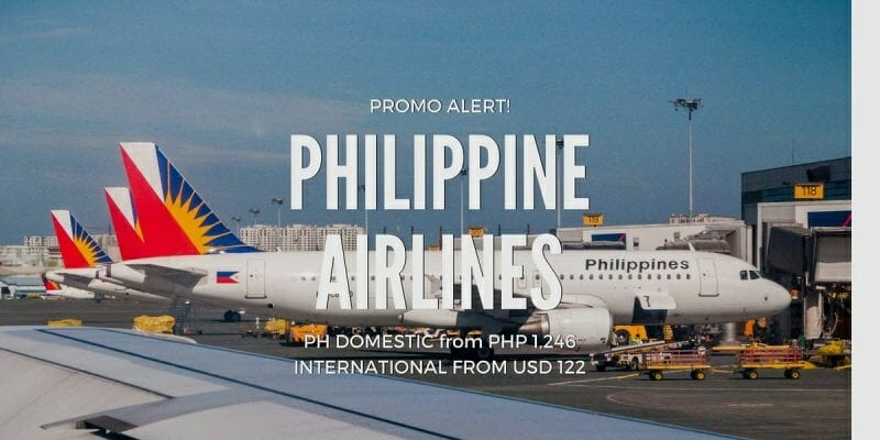 Philippine Airlines Weekend Sale for July to Oct, Nov, Dec 2017 travel