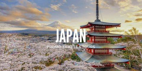 Japan Promo – Up to 44% OFF Tours, Tickets & Travel Packages