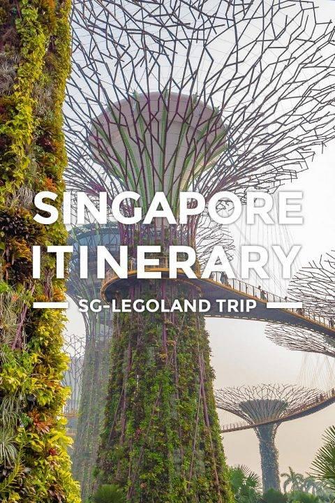 Singapore Itinerary – 3-4 Days SG Legoland Tour