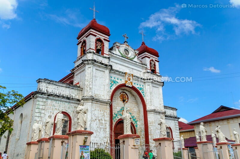 Carcar Church in Carcar, Cebu, Philippines