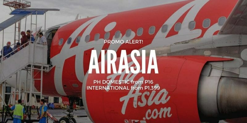 AirAsia PHP16 Red Hot Sale for January to August 2018 Travel