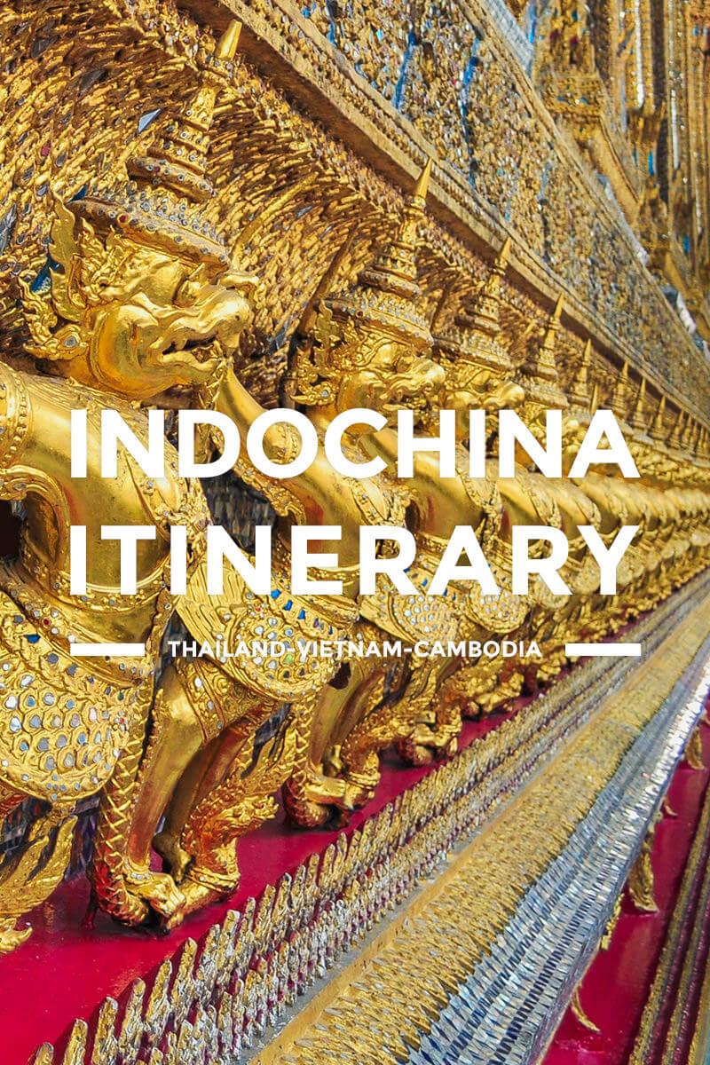 Indochina Itinerary – Thailand, Cambodia & Vietnam Tour