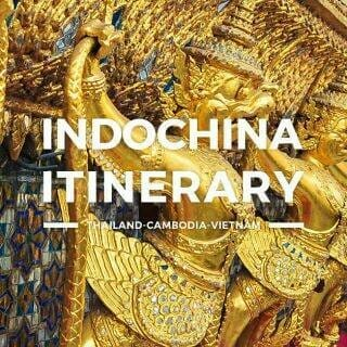 Indochina Itinerary – Thailand, Cambodia, Vietnam 5 days or 1 Week