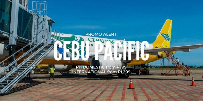 Cebu Pacific P799 ALL-IN Promo – 2018 Travel on PH Domestic & Int'l Flights