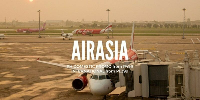 AirAsia PH Promo – Philippines Domestic & Int'l Flights for 2017 to 2018 Travel
