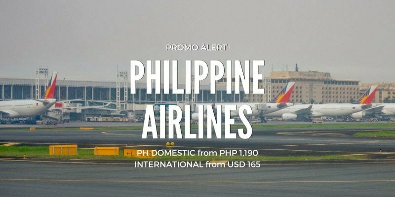 Philippine Airlines Weekend Promo – 2017 Travel on PH Domestic & Int'l Flights