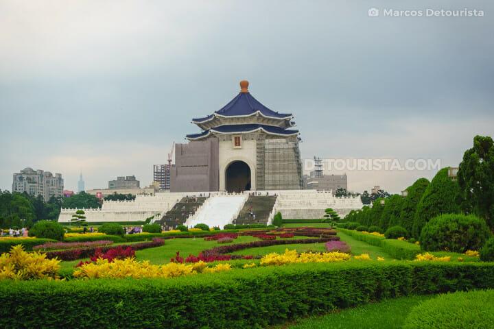 Chiang Kai-shek Memorial Hall in Taipei, Taiwan