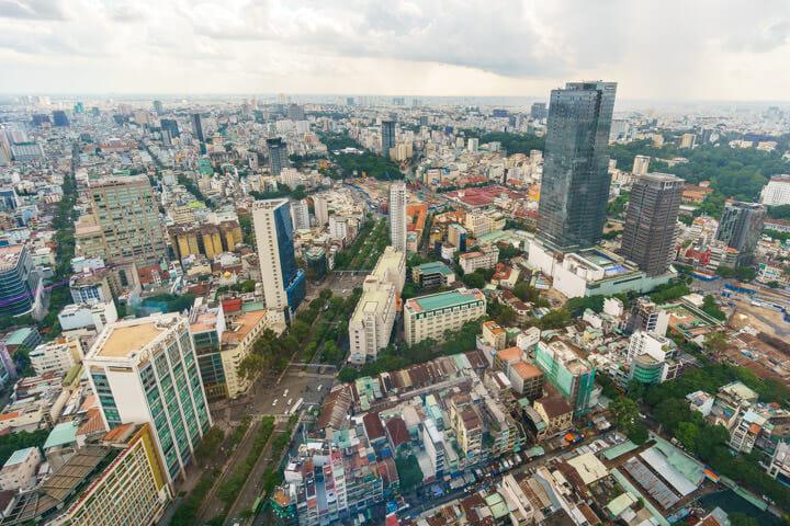 Saigon SkyDeck view