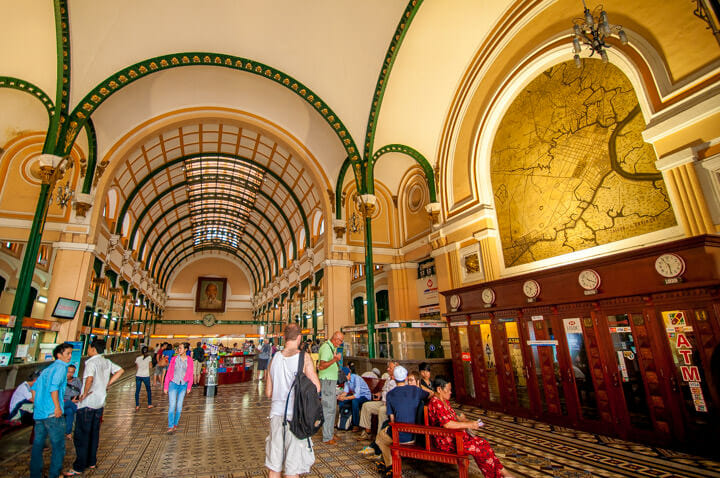 Central Post Office Interiors