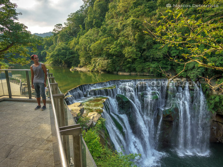 Shifen Waterfalls near Taipei, Taiwan