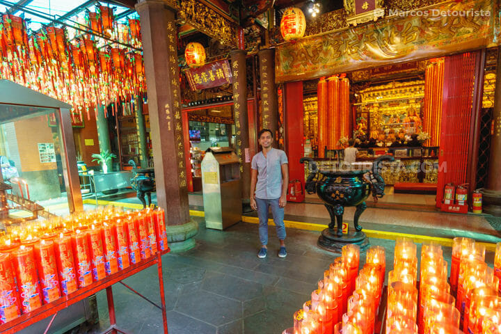 Tianhou Temple in Ximen, Taipei, Taiwan