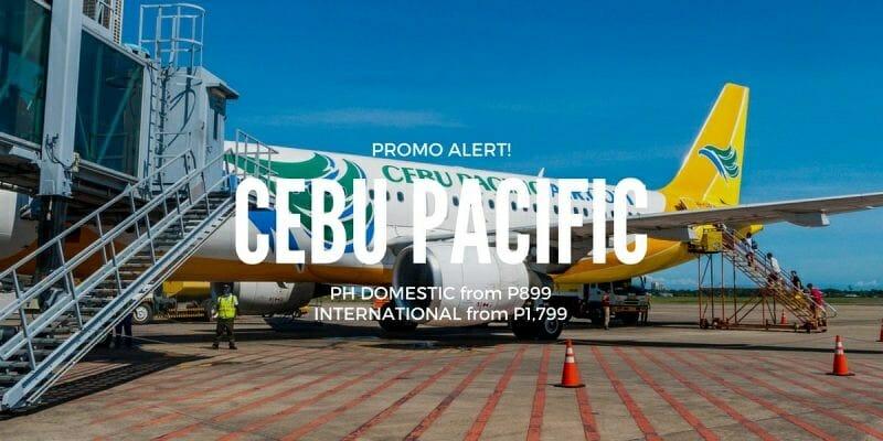 Cebu Pacific Promo – P899 ALL-IN on PH Domestic & Int'l Flights