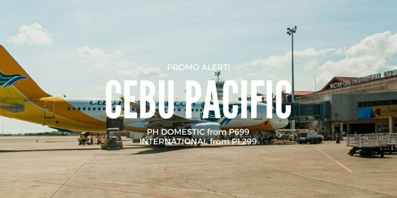 P699 Cebu Pacific ALL-IN Promo on PH Domestic & Int'l Flights
