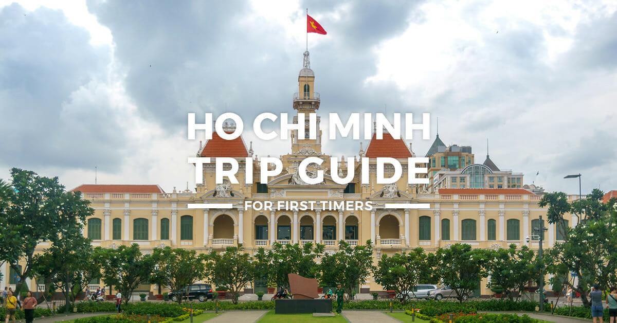 2019 Ho Chi Minh ITINERARY + Travel Guide BLOG + BUDGET