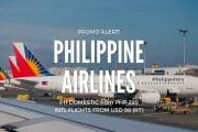 Philippine Airlines – 70% OFF Ultimate Seat Sale!