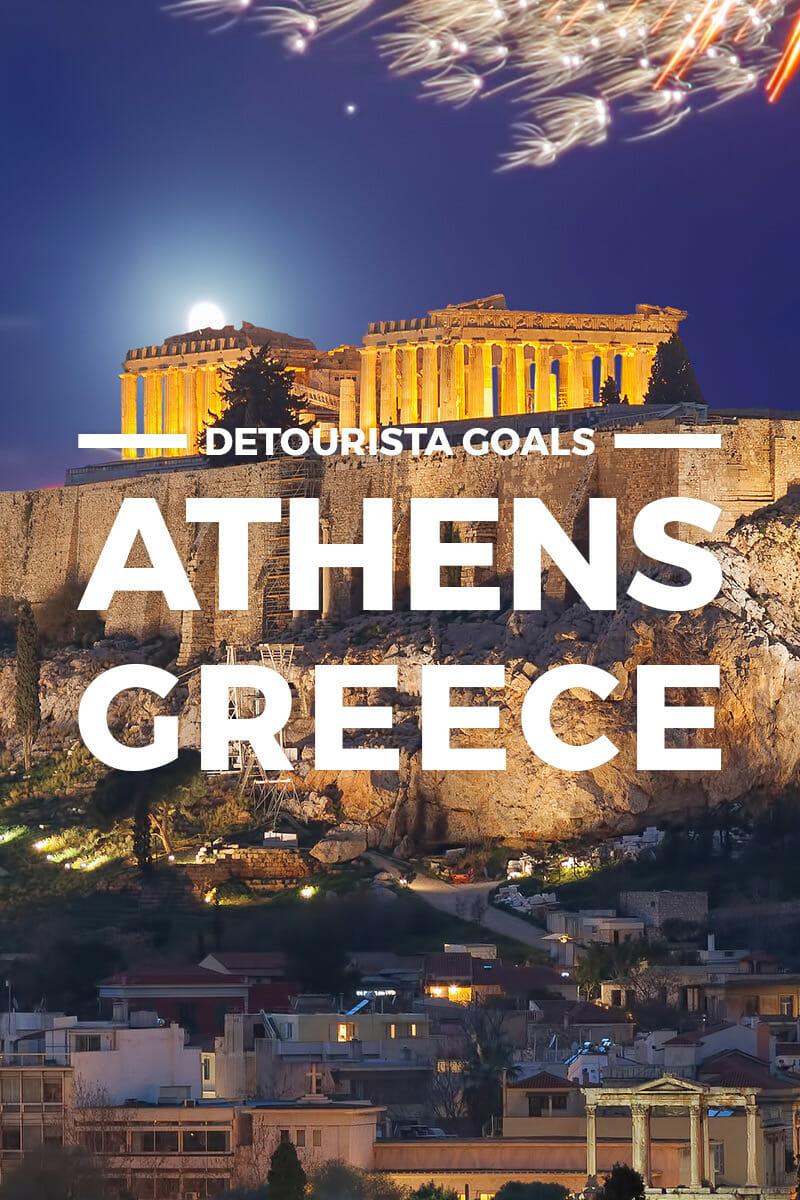 TRAVEL GOALS: Athens & Greece Winter Wonderland