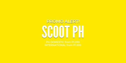Scoot PH – Singapore Promo from P1,899 ALL-IN, Europe from P9,899 ALL-IN