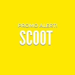 Scoot GTG Promo on International Flights! Fly from P1,999 ALL-IN from Manila, Cebu & Clark