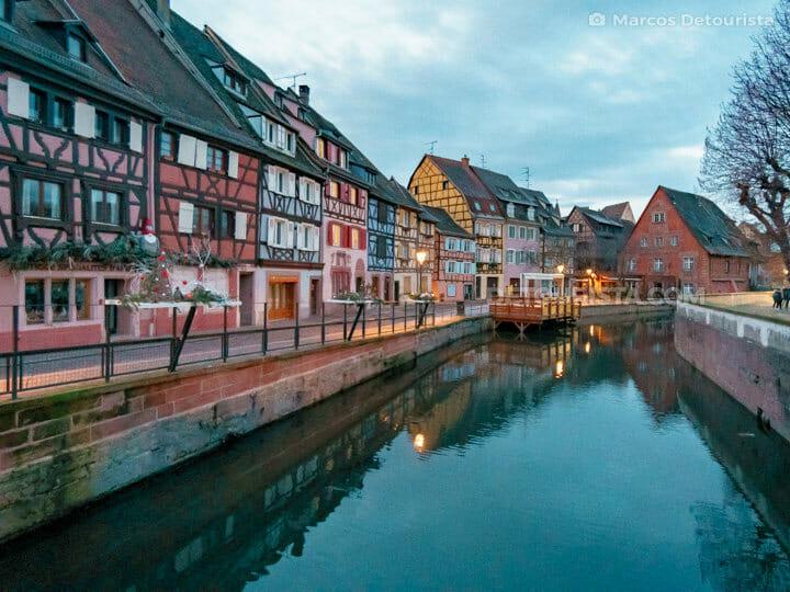 Little Venice in Colmar France