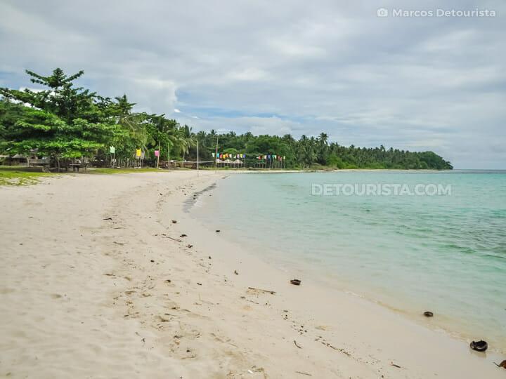White Beach, in Malamawi Island, Isabela City, Basilan, Philippines