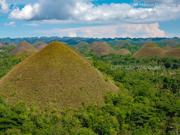 Chocolate Hills Viewdeck in Carmen, Bohol, Philippines