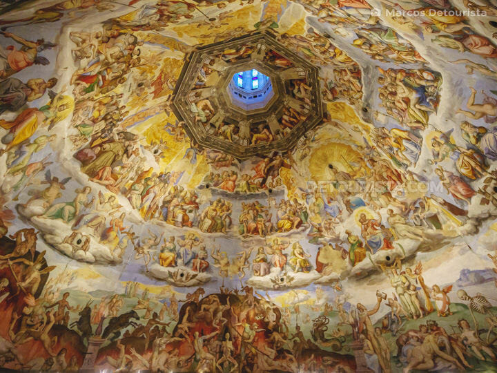 Brunelleschi's Dome at the Florence Cathedral (Duomo), Italy