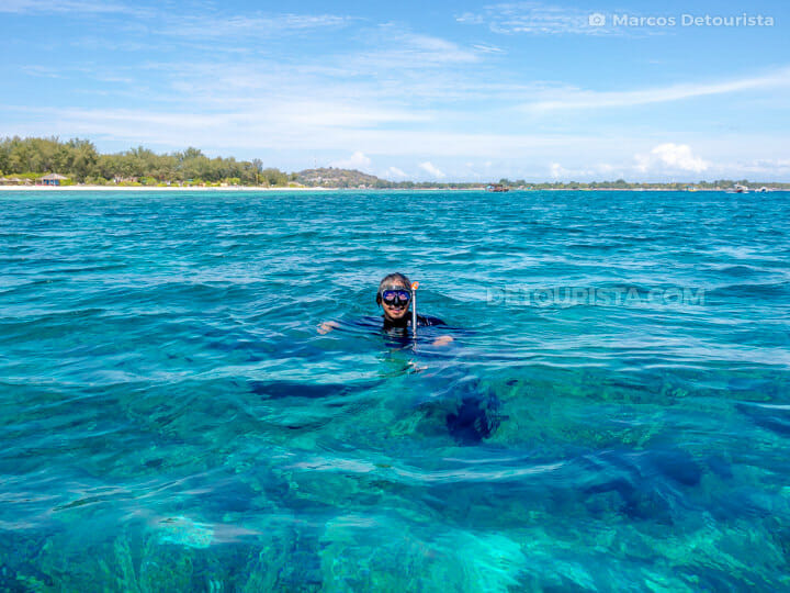 Gili Air snorkeling & island hopping, in Gili Islands, Lombok, West Nusa Tenggara, Indonesia