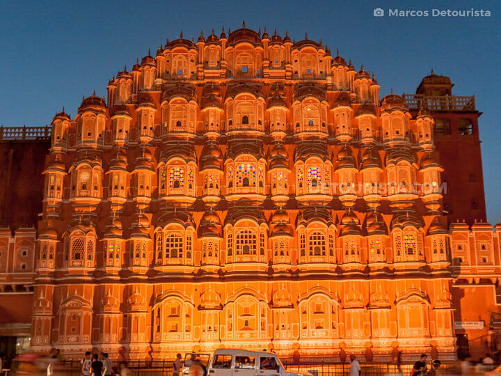 Hawa Mahal in Jaipur, Rajasthan, India