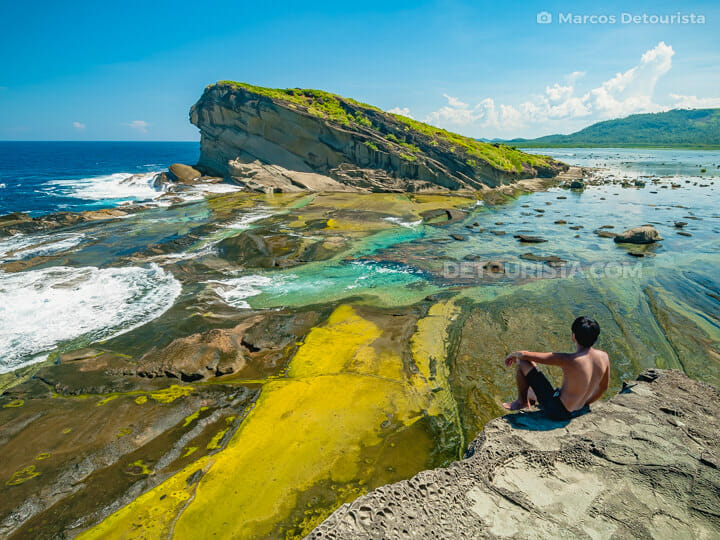 Magasang Rock Formation, Biri