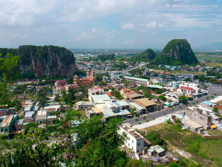 Vong Giang Dai view, Marble Mountains in Da Nang, Vietnam