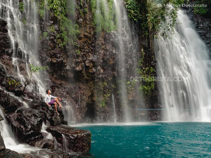 Marcos at Tinago Falls, Iligan