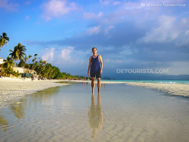 Marcos at White Beach