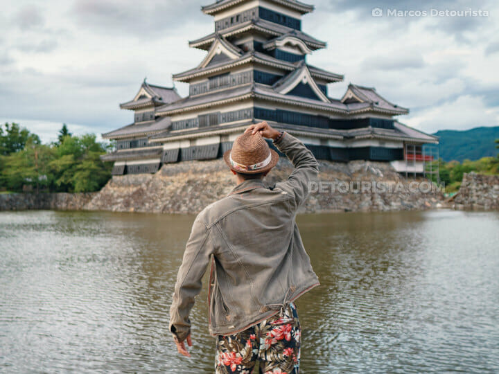 Matsumoto Castle in Nagano, Japan