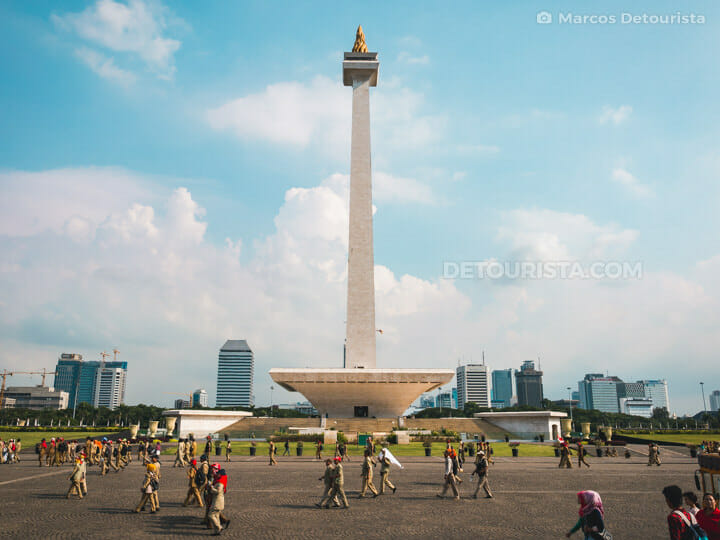 Monas Tower (National Monument), Jakarta
