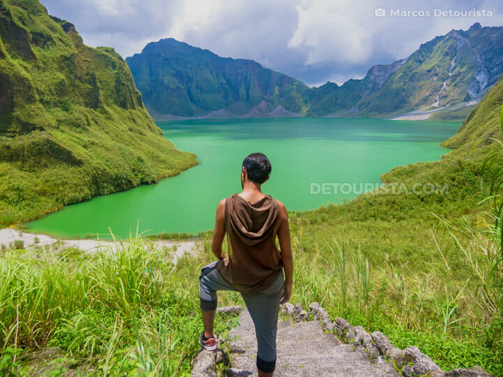 Mount Pinatubo crater lake, Philippines