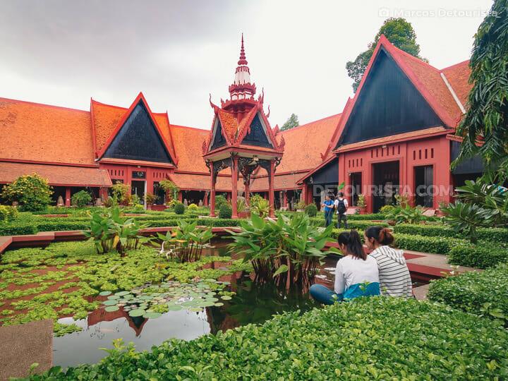 National Museum, in Phnom Penh, Cambodia