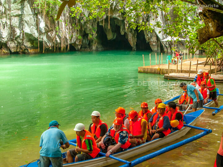 Puerto Princesa Underground River in Sabang, Puerto Princesa Cit
