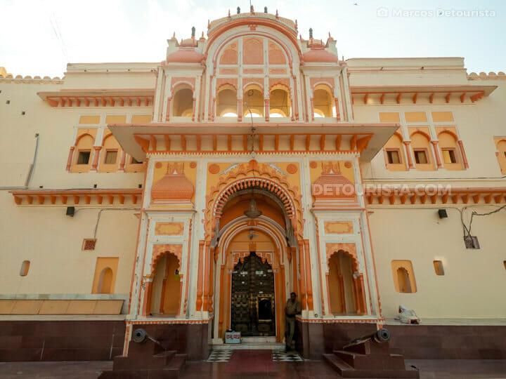 Ram Raja Temple in Orchha, Madhya Pradesh, India