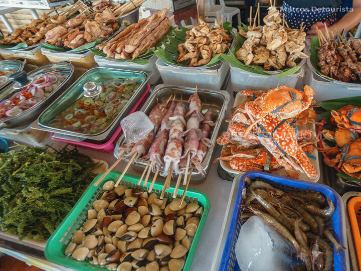 Seafood at People's Park, Roxas City, Capiz