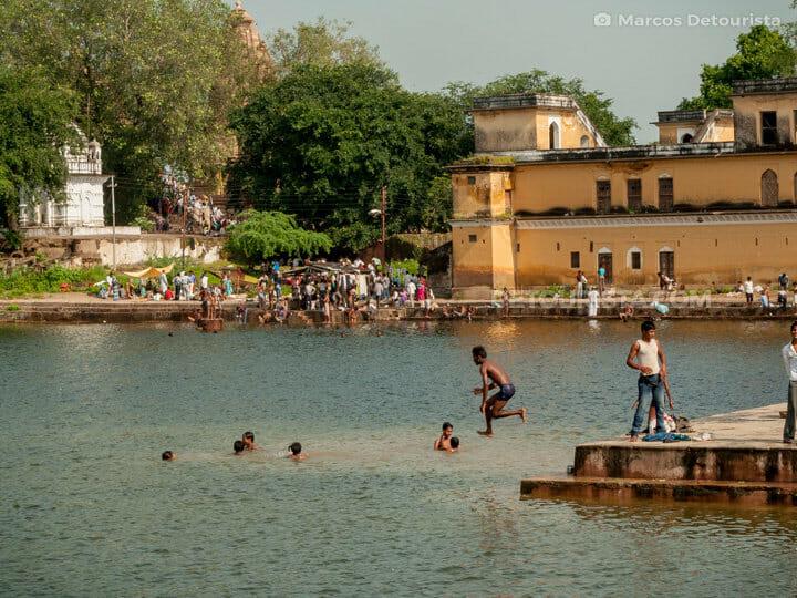 Shiv Sagar Lake, Khajuraho