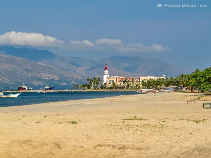 Subic Bay beachfront, near Olongapo City, Zambales
