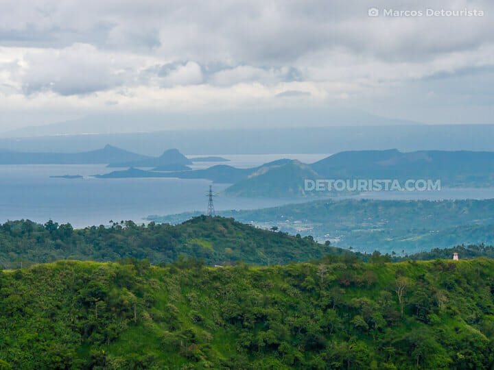 Taal Volcano view from Tagaytay