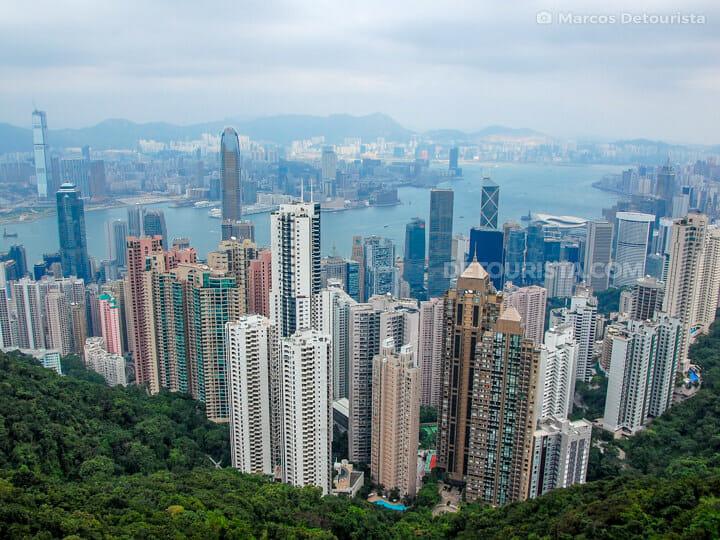 Victoria Peak - Hong Kong skyline