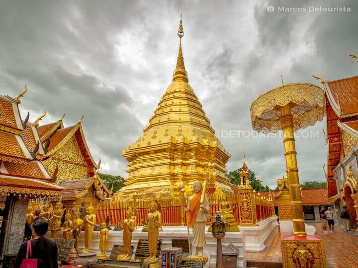 Wat Doi Suthep Lanna in Chiang Mai, Thailand